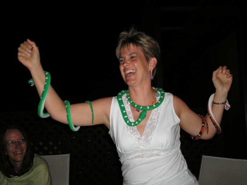Snake Priestess Crete