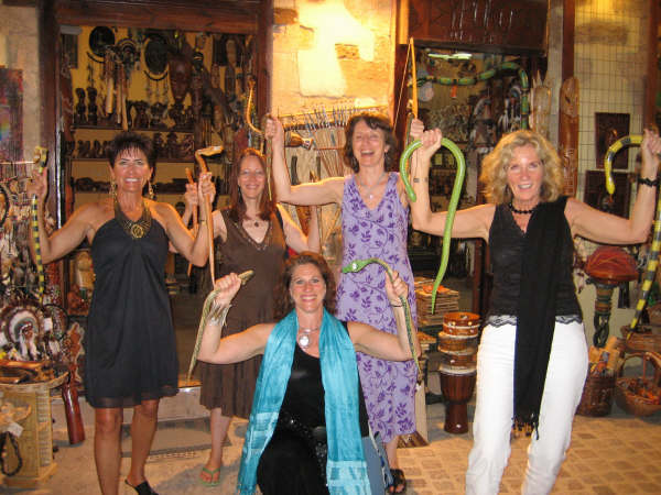 Snake Priestesses in Chania