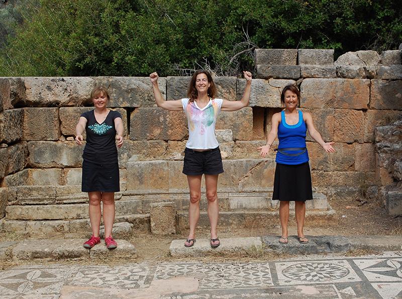3 Priestess Postures