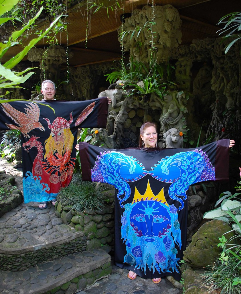 Courage and Healing Robes in Bali