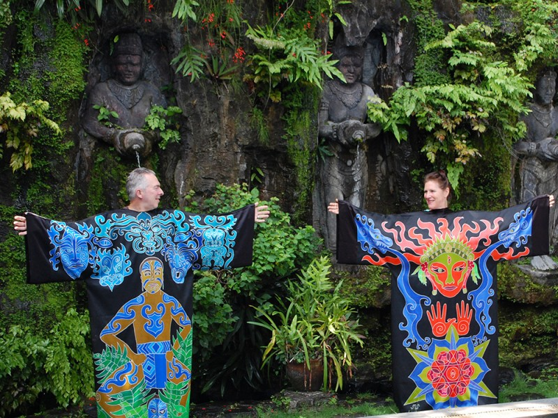 Power and Creativity Robes in Bali
