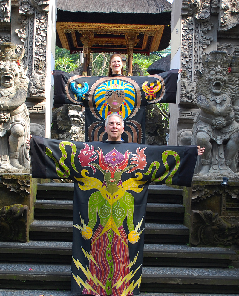 Transformation and Knowledge Robes in Bali