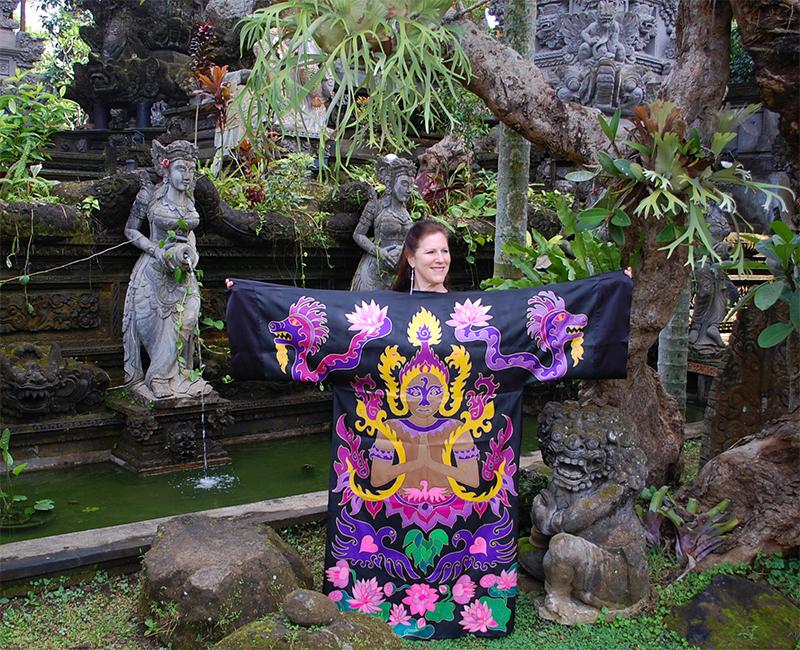 Peace Robe in Bali