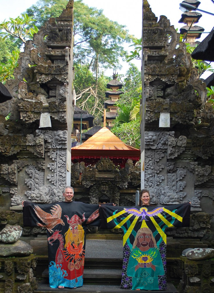 Courage and Love Robes in Bali