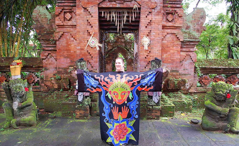 Creativity Robe in Bali
