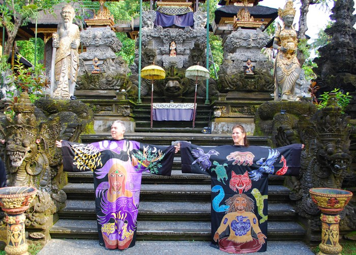 Inspiration and Awareness Robes in Bali