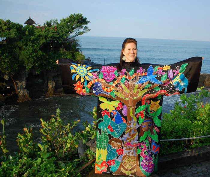 Joy Robe, Tanah Lot Temple, Bali