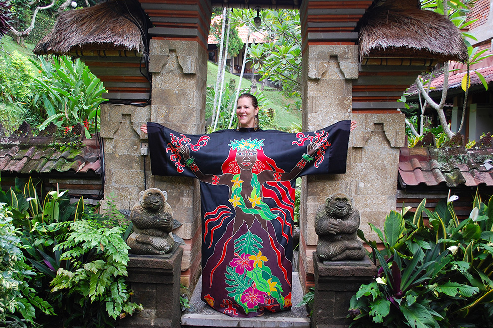Passion Robe in Bali