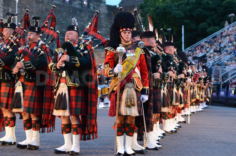 London scotland theater tour megan wagner for Tattoo edinburgh scotland