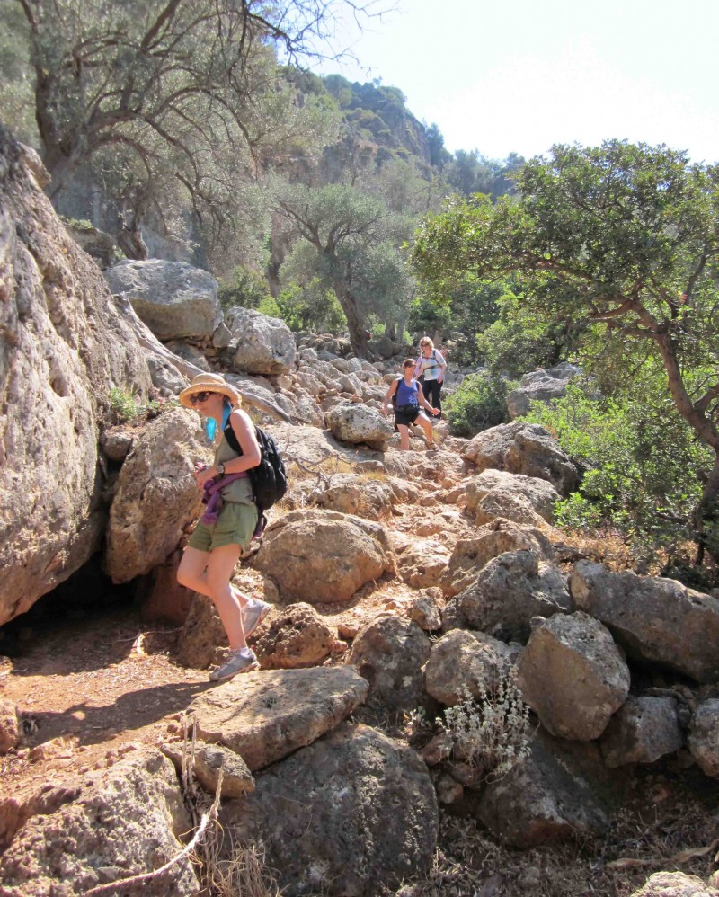 Hike to Lissos Crete