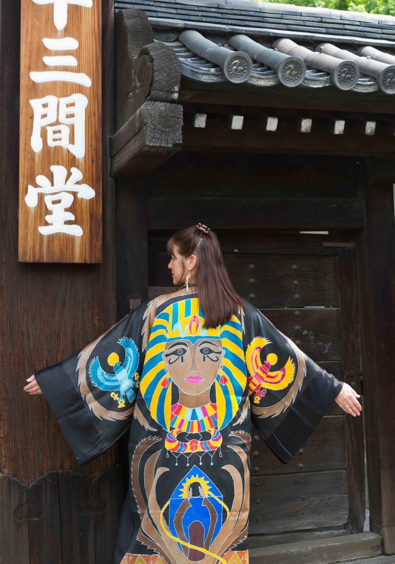 Sacred Temple Kyoto Japan