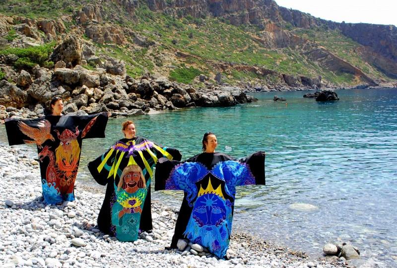 Lissos beach Crete