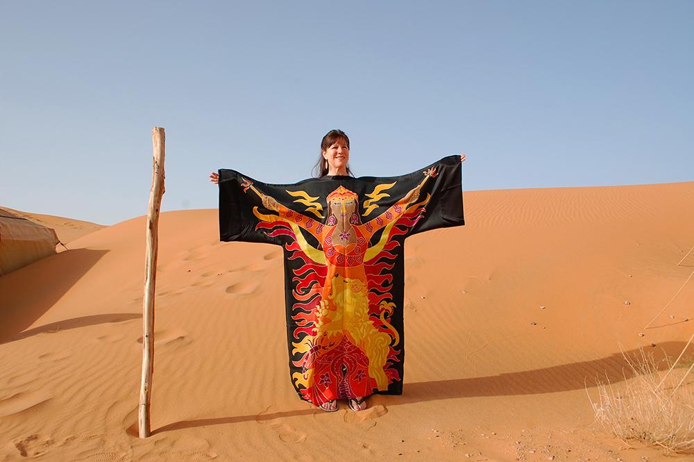 Manifestation Robe in the Sahara Desert