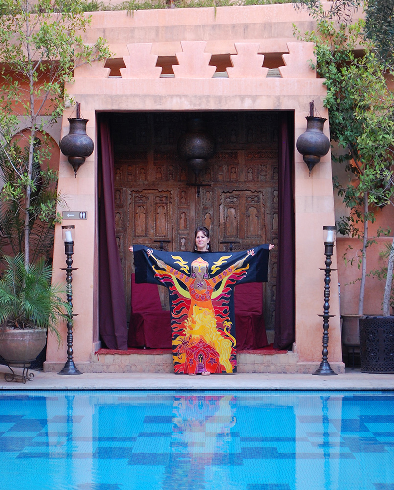 Manifestation Robe, La Maison Arabe Marrakech