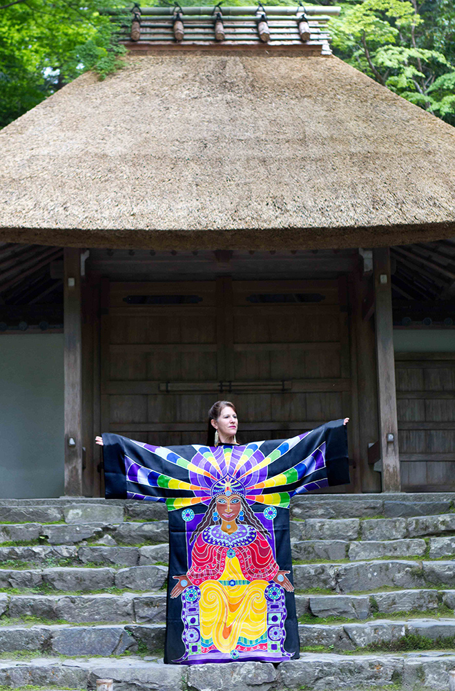Passion Robe Kyoto, Japan, photo Lisa Winston