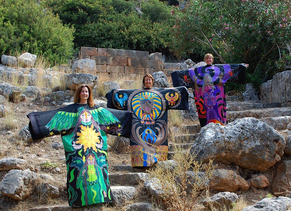 Sacred Robes Lissos Temple