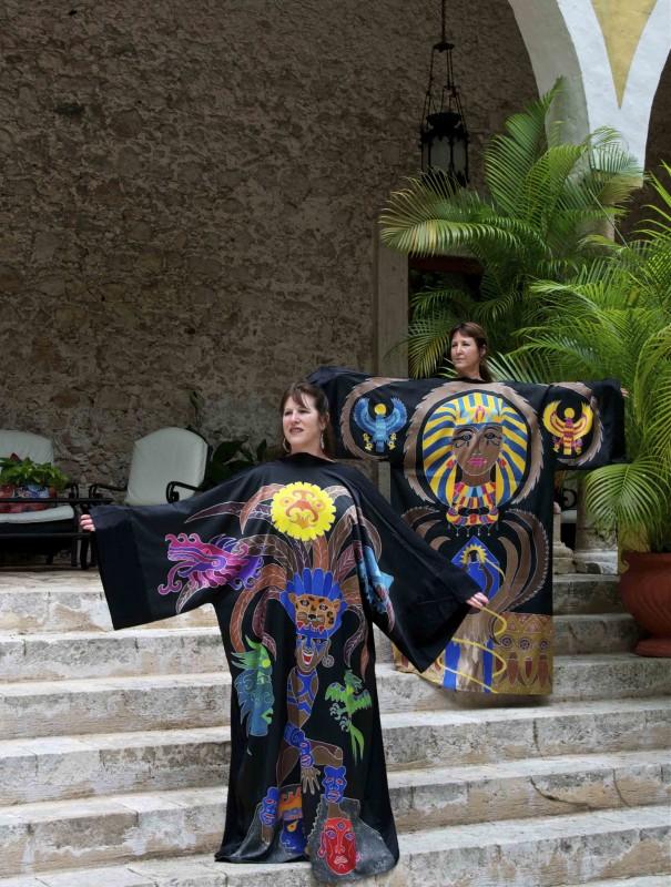 Yucatan robes 2