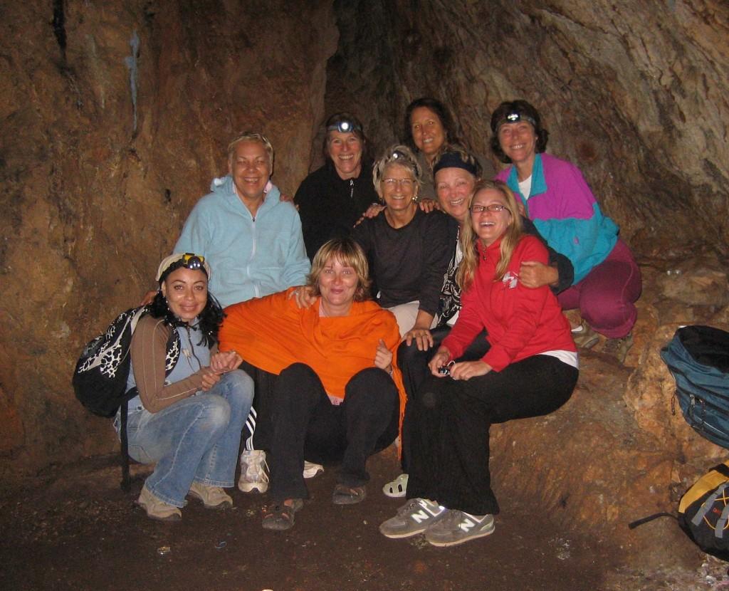 In the Crete cave