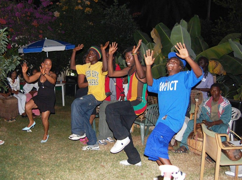 Gambia dancing