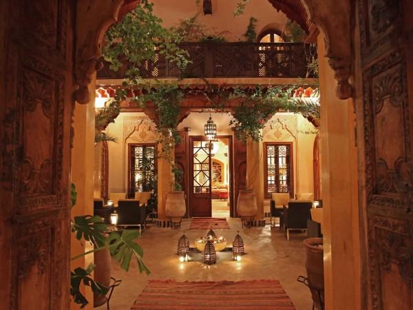 Maison Arabe interior