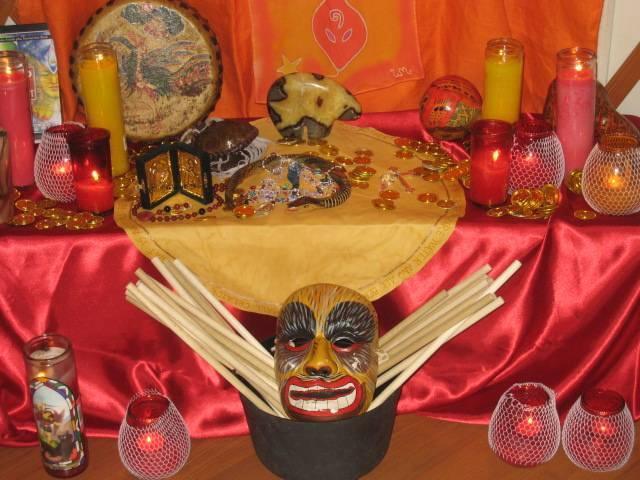 Manifestor altar